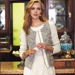 Cartonnier Glimmer Metallic Tweed Jacket